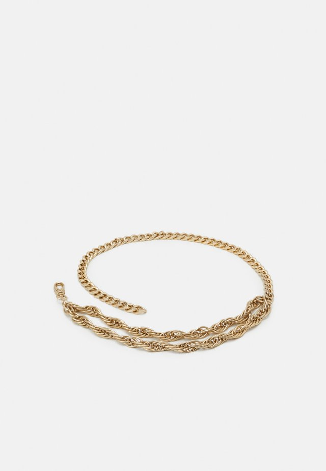 CHAIN BELT - Pasek - gold-coloured