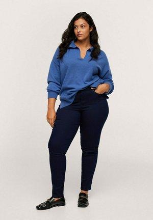 JULIE - Slim fit jeans - marineblau