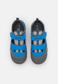 TrollKids - KIDS LILLESAND UNISEX - Walking sandals - medium blue - 3