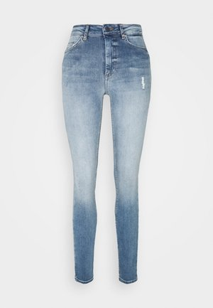 ONLBLUSH HIGH WAIST - Jeans Skinny Fit - light blue denim