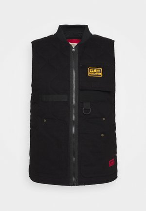WORKWEAR VEST - Waistcoat - black
