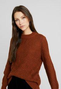 Object - Pullover - brown patina melange - 3