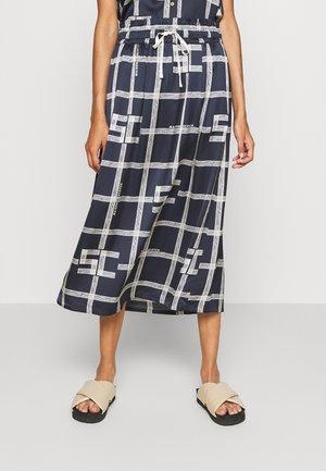 MIDI SKIRT WITH ALLOVER PRINT - Pencil skirt - combo
