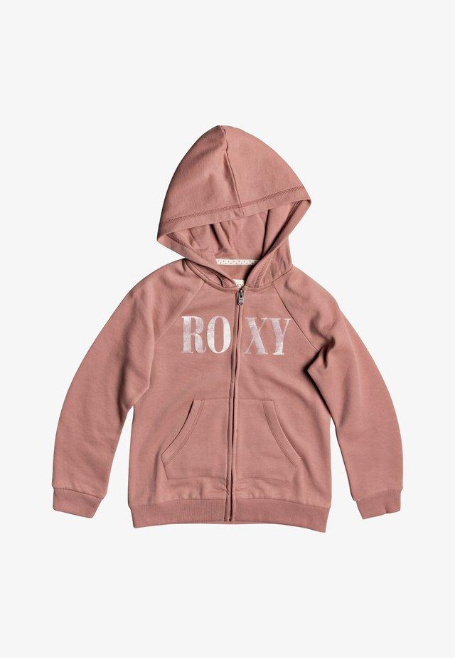 ANOTHER CHANCE A MIT REISSVERSCHLUSS  - Zip-up hoodie - ash rose