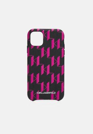 MONOGRAM CASE 11 - Phone case - black