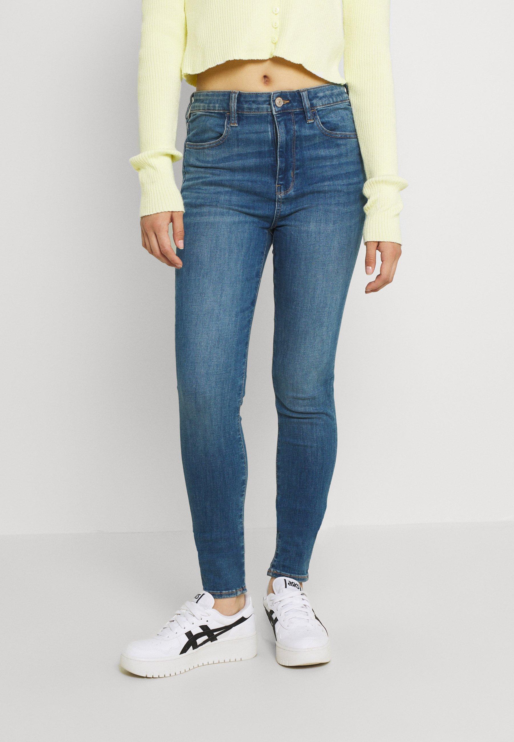 Damen SUPER HI RISE - Jeans Skinny Fit