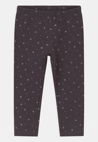 OVS - 2 PACK - Leggings - Trousers - granite gray/true red - 2
