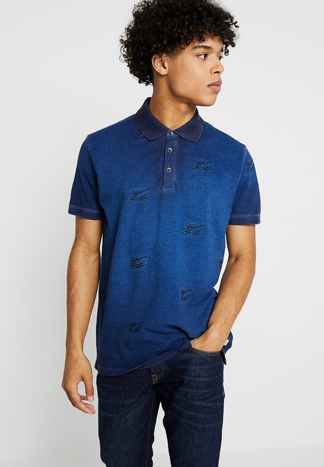 MOKUM'S FINEST - Polo shirt - indigo