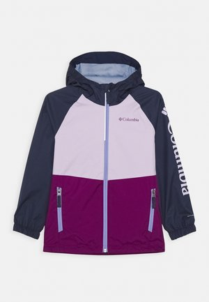 DALBY SPRINGS JACKET - Kurtka Outdoor - plum/pale lilac/nocturnal