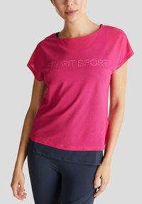 Esprit Sports - Print T-shirt - pink fuchsia - 3