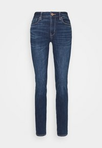 American Eagle - HI RISE - Jeans Skinny Fit - deeply cobalt - 3