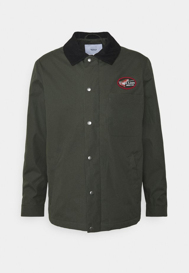 MINNOW JACKET - Veste légère - dark green