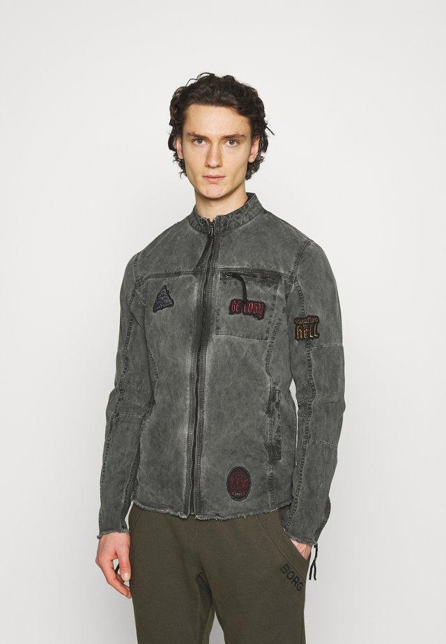 KAIO - Denim jacket - jet black