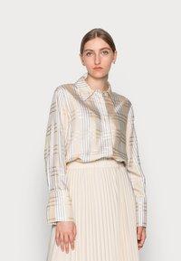 IVY & OAK - DARLA - Button-down blouse - beige - 0