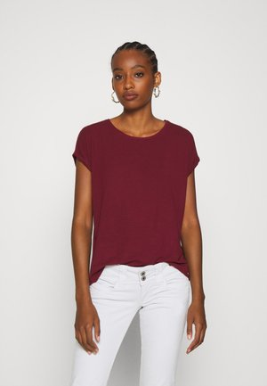 VMAVA PLAIN - Basic T-shirt - cabernet