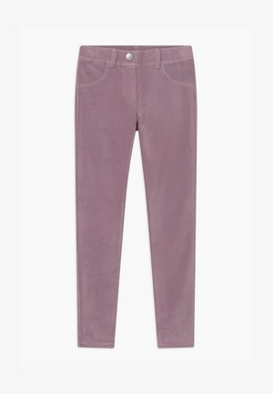 BASIC GIRL - Trousers - purple
