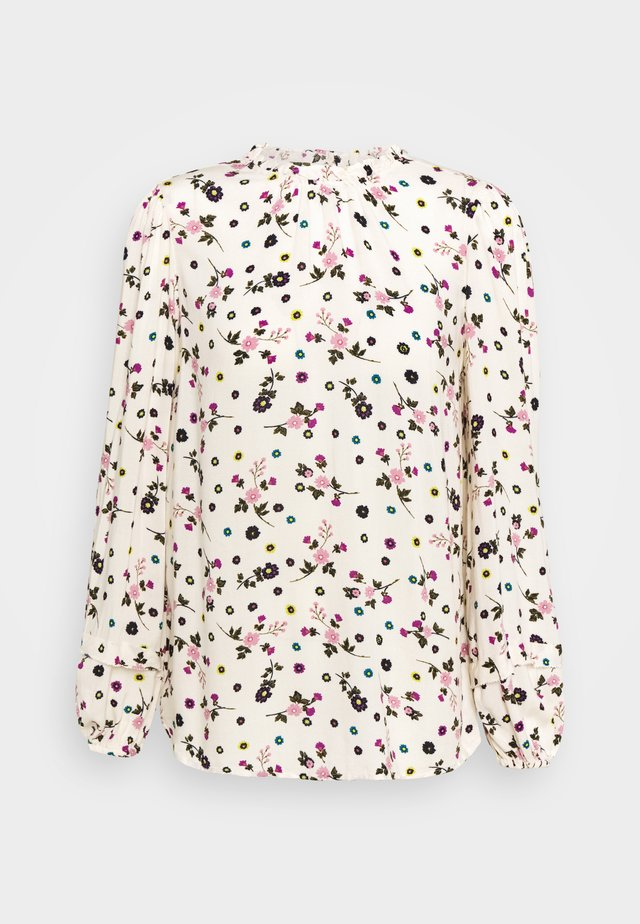 FLORAL - Bluser - offwhite