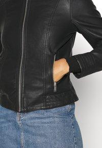 b.young - ACOM JACKET - Faux leather jacket - black - 5