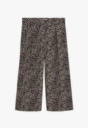 CRETA - Spodnie materiałowe - schwarz
