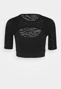 Good American - ZEBRA - Basic T-shirt - black - 5
