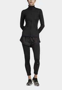 adidas by Stella McCartney - ESSENTIALS MID-LAYER TRACK TOP - Trainingsvest - black - 0