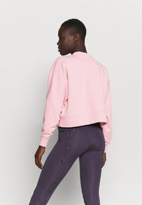 Nike Performance - DRY GET FIT CREW - Sweatshirt - pink glaze/light smoke grey - 2