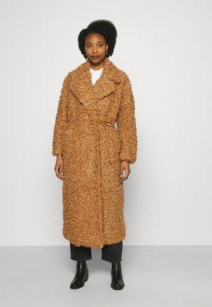 CHARLIES - Klasický kabát - dark brown