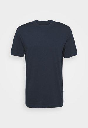 SLHRELAXCOLMAN O NECK TEE - T-shirt - bas - navy blazer