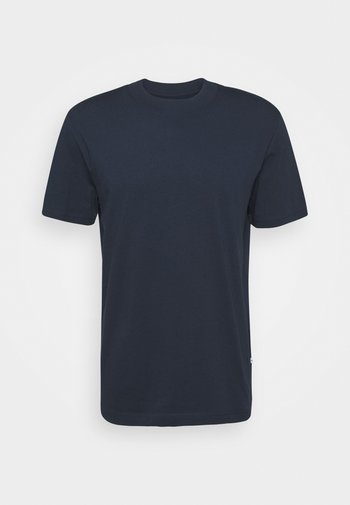 SLHRELAXCOLMAN O NECK TEE - Basic T-shirt - navy blazer