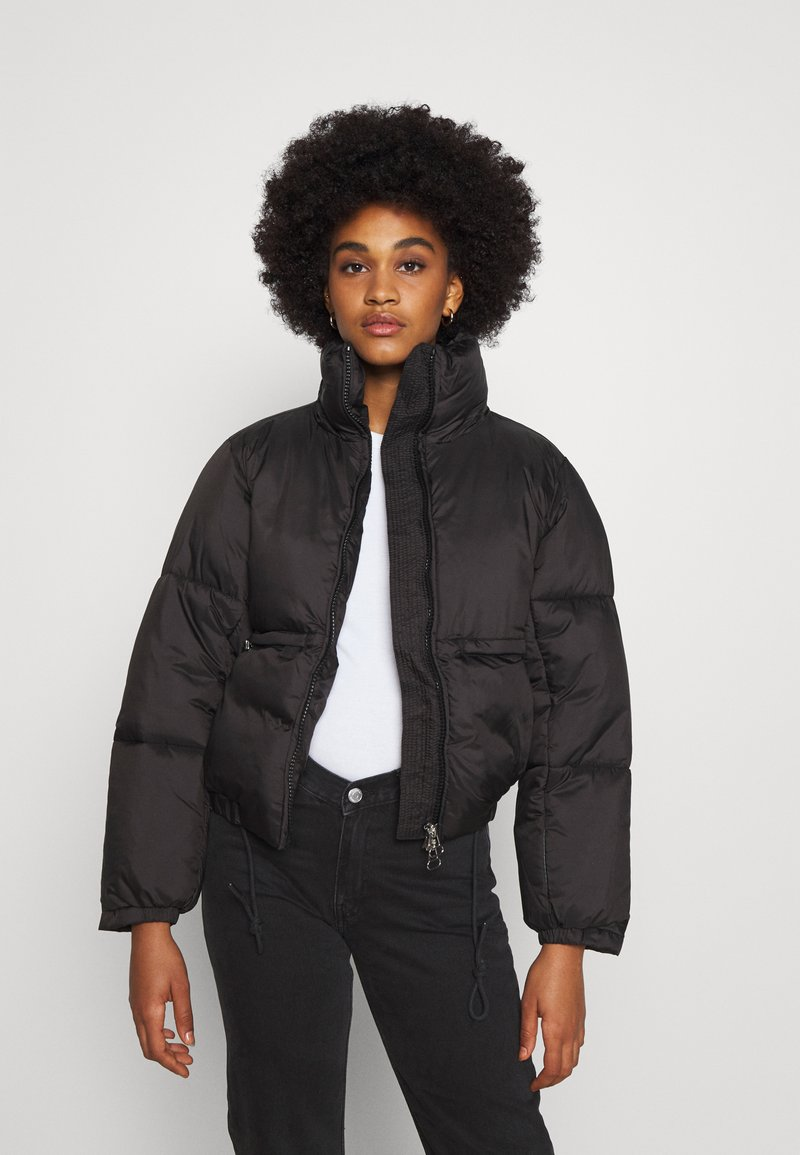 Weekday - HEDDA PUFFER JACKET - Zimní bunda - black