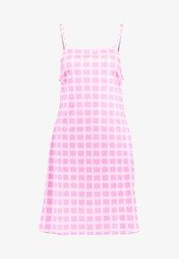 HOSBJERG - NORA LOGO DRESS - Jerseykjoler - pink - 4