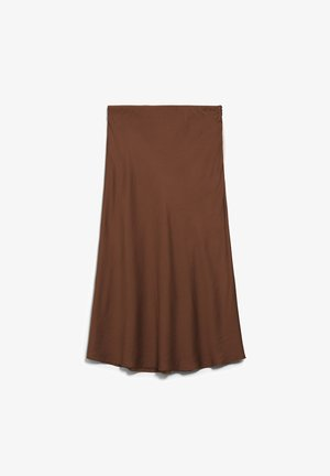 TERUCAA - A-line skirt - cacao
