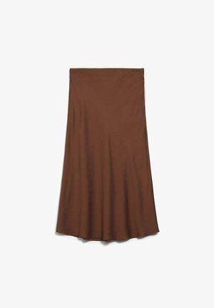 TERUCAA - A-line skirt - cacao