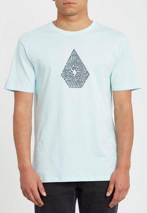 SHATTER BSC SS - Camiseta estampada - resin blue