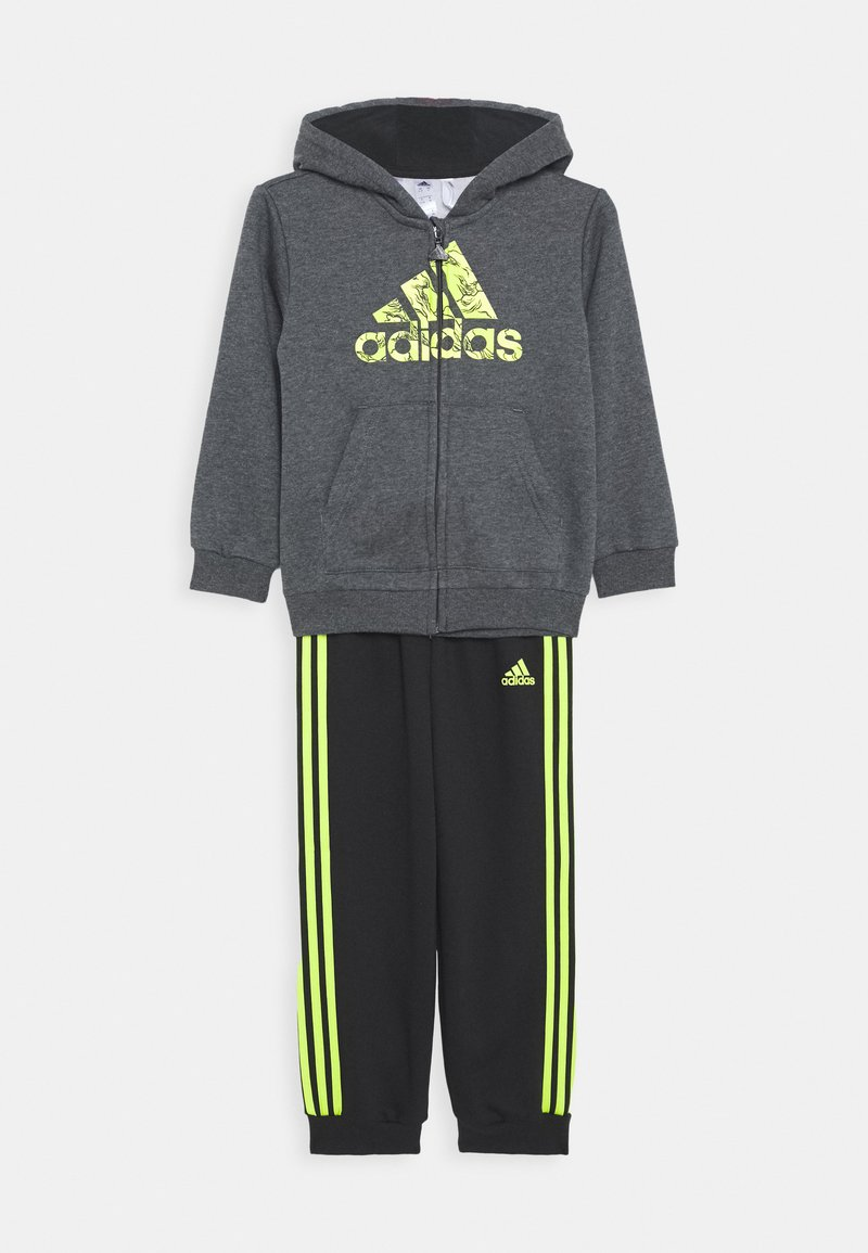 adidas Performance - FAVOURITES TRAINING SPORTS TRACKSUIT BABY SET - Trainingspak - grey
