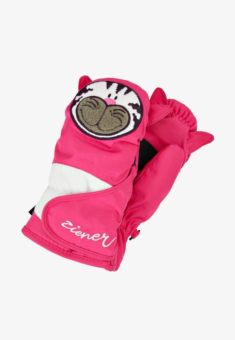 Ziener - LAFAUNA AS® MINIS - Mittens - pop pink