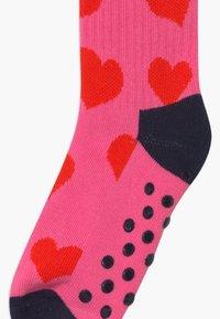 Happy Socks - KIDS BIRDS/HEART 2 PACK - Socks - purple/light pink - 2