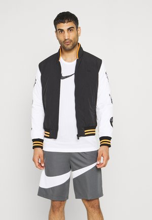 NBA EAST WEST COAST VARSITY JACKET - Squadra - black