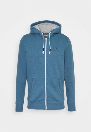 ZIPTHROUGH - Zip-up hoodie - audacious blue