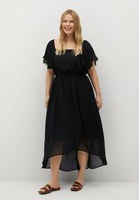 Violeta by Mango - PUNTAS8 - Day dress - schwarz - 0
