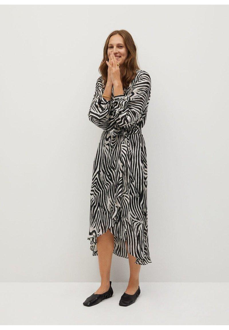 Mango - Maxi dress - schwarz