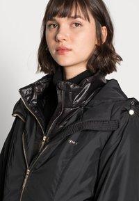 Liu Jo Jeans - IMBOTTITO OVATT LUNG - Winter coat - nero - 5