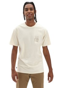 Vans - MN OFF THE WALL CLASSIC GRAPHIC SS - Print T-shirt - seedpearl - 0