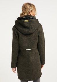Schmuddelwedda - Krátký kabát - oliv melange - 2