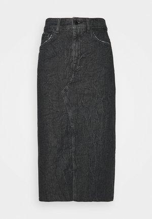 NOELIA LONGUETTE SKIRT - Denimová sukně - maggie dark