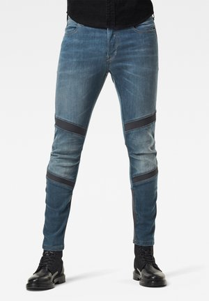 MOTAC 3D SLIM - Slim fit jeans - worn in gravel blue