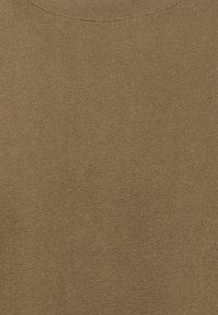 ARKET - BASIC TOWELLING T-SHIRT - T-paita - brown - 2