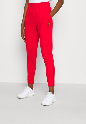 HERITAGE PANT - Tracksuit bottoms - university red