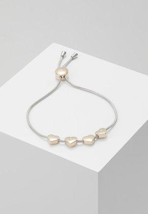 CASUAL - Bracelet - silberfarbe/rosé