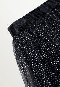 Mango - ESES - A-line skirt - svart - 2
